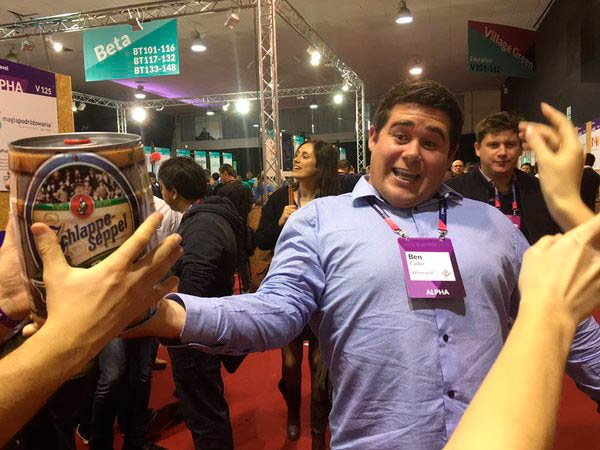 2015 web summit alpha start up meetngreetme
