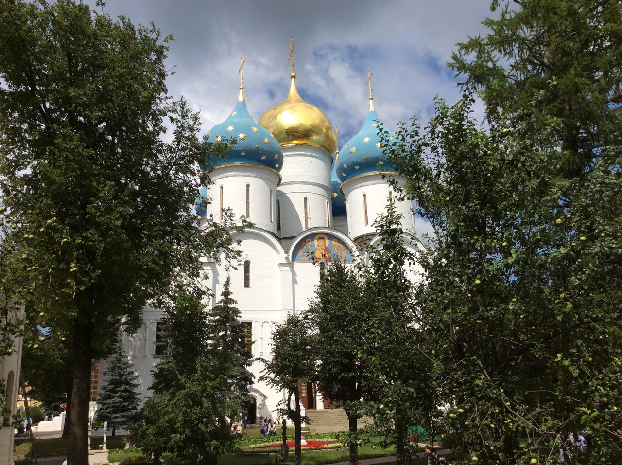 The Cathedral of the Assumption Trinity St. Sergius Lavra