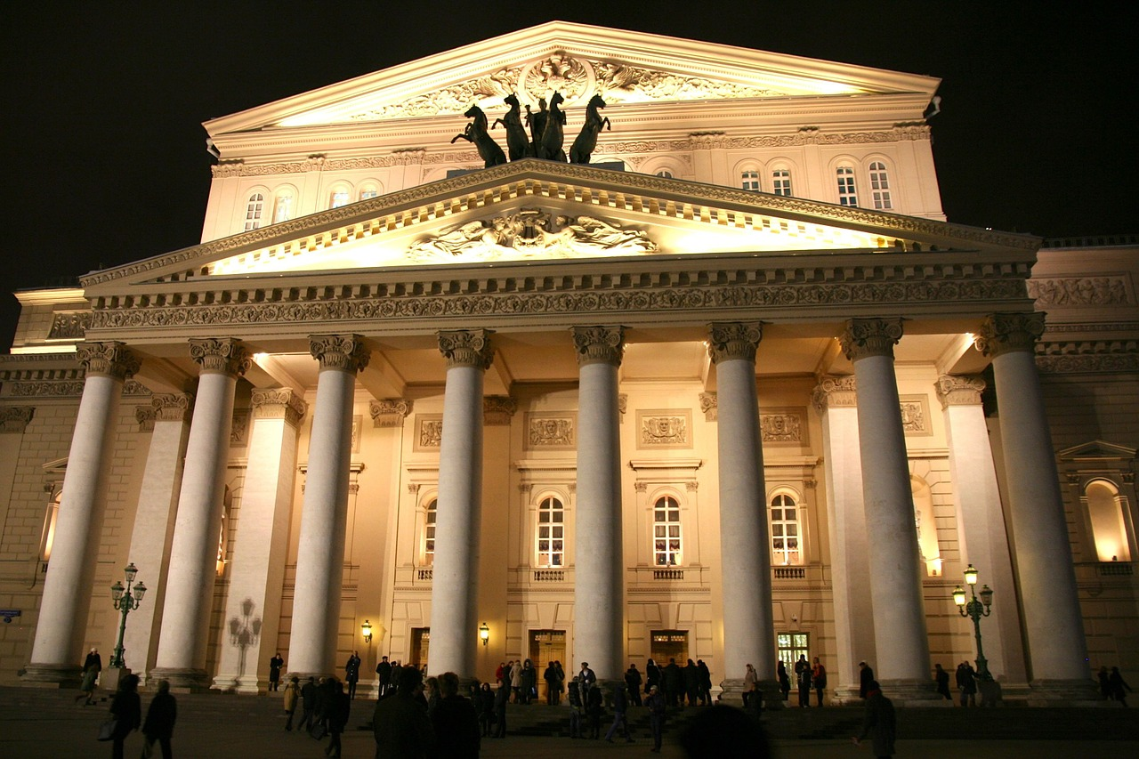 Bolshoi Theatre Opera and Ballet Moscow Russia MeetnGreetMe Architectural Guide