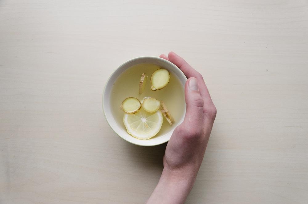 Ginger tart lemonade