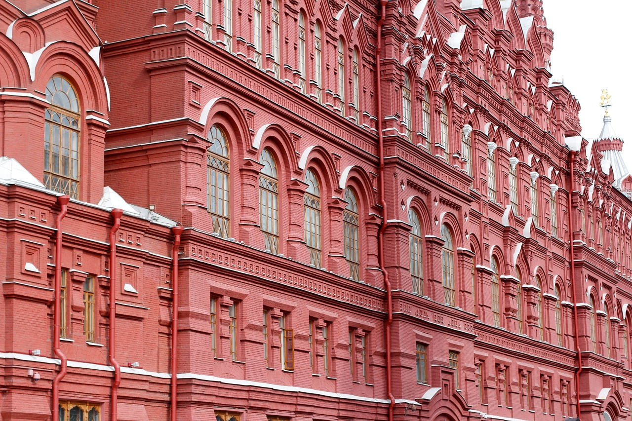State Historical Museum Moscow Russia MeetnGreetMe Architectural Guide