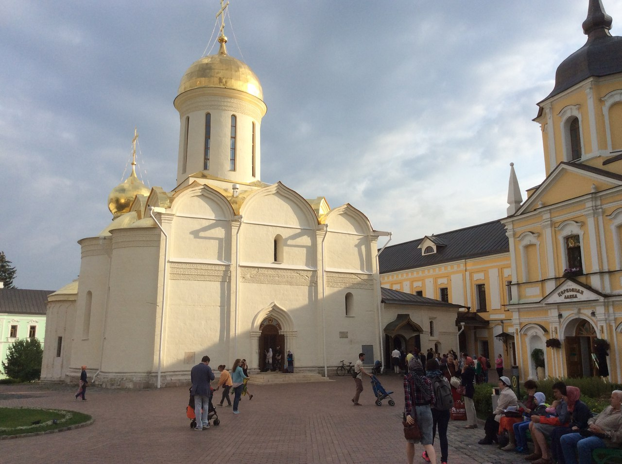 The Trinity Cathedral in Trinity St. Sergius Lavra