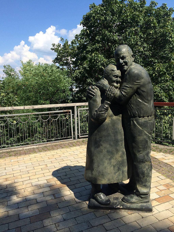 Love Bridge in Kiev, Ukraine. MeetnGreetMe