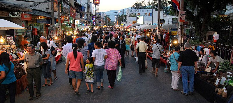Chiang Mai thailand meetngreetme walking street