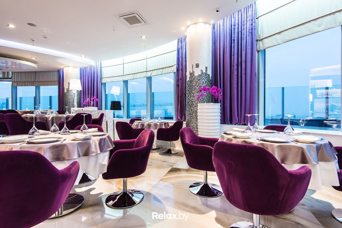 The View High-end restaurant in Minsk