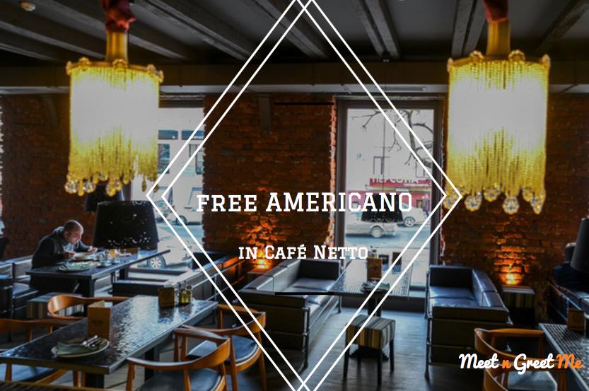 americano in cafe netto - minsk, belarus