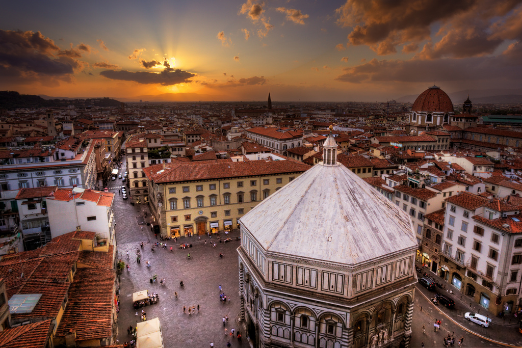sunset florence italy travel guide