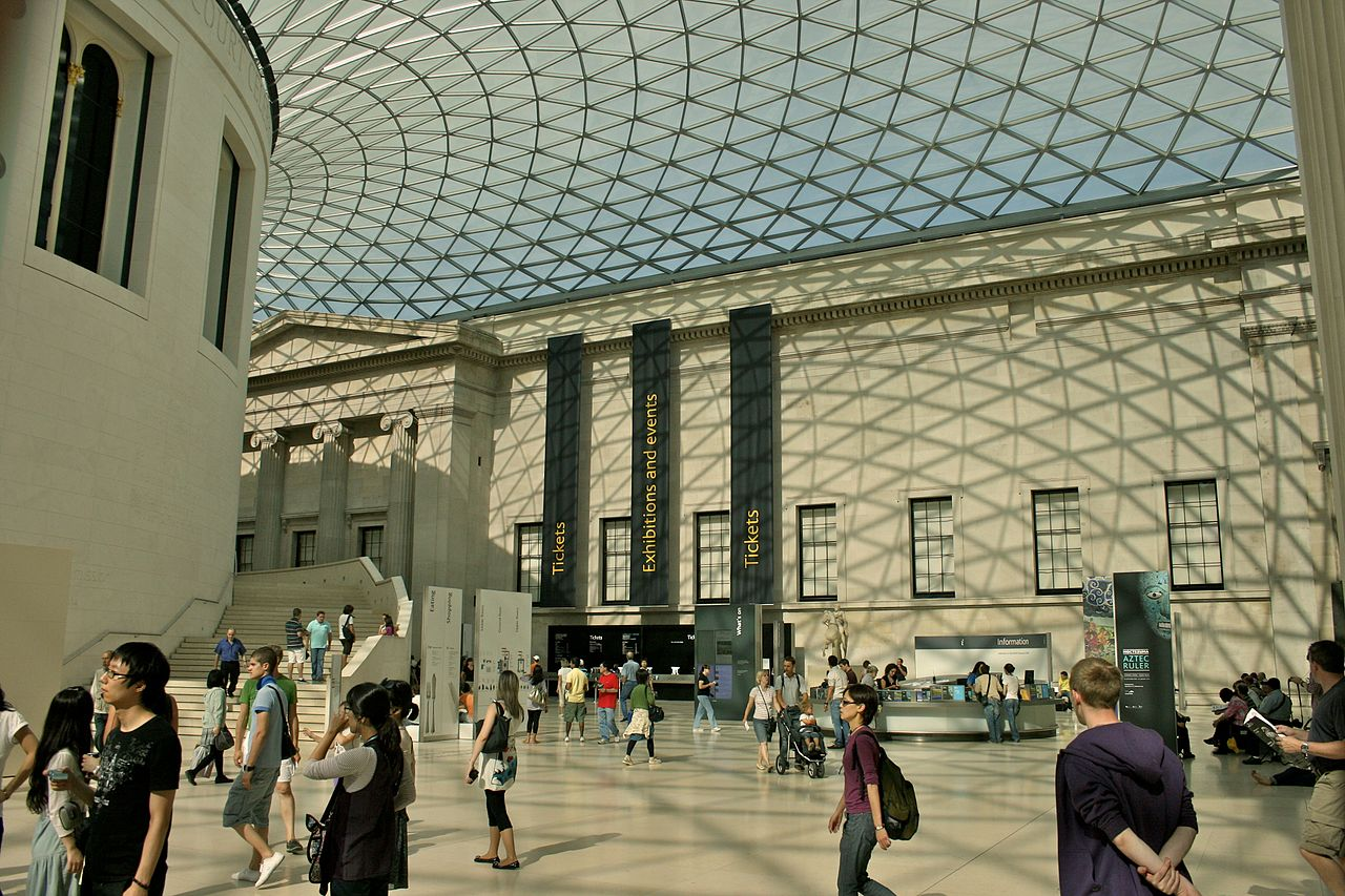 British_Museum_Great_Court_London_United Kingdom