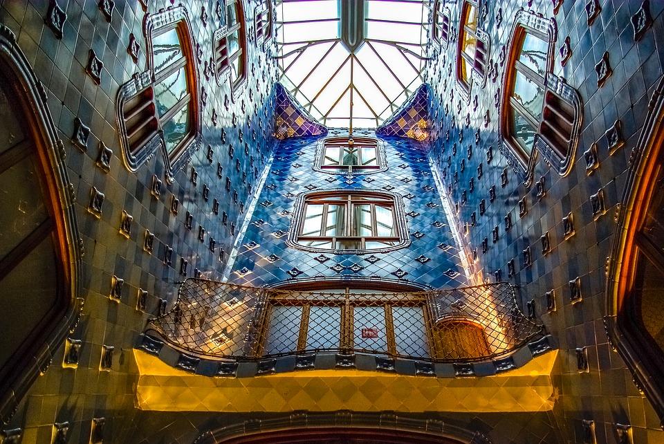 Spain Barcelona Gaudi