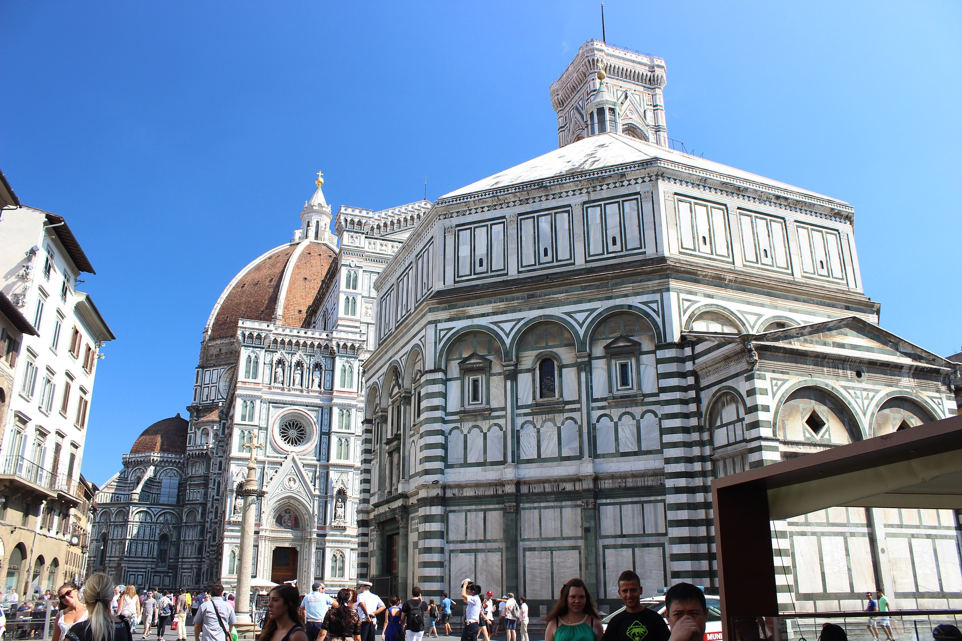 The Duomo in Florence, the Cathedral of Santa Maria del Fiore