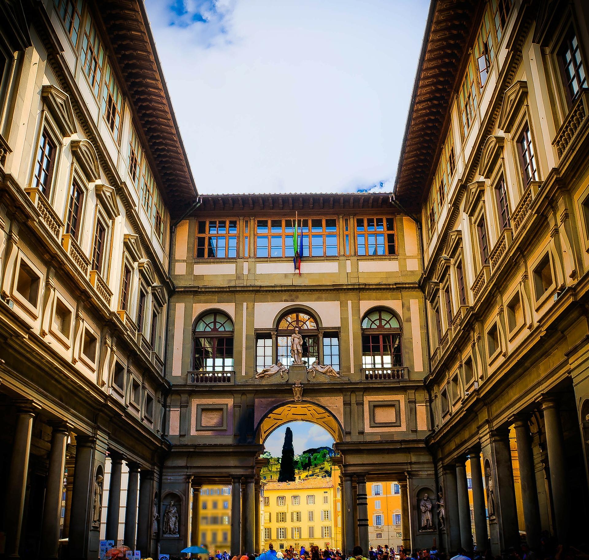 Uffizi Gallery Florence Italy art Renaissance