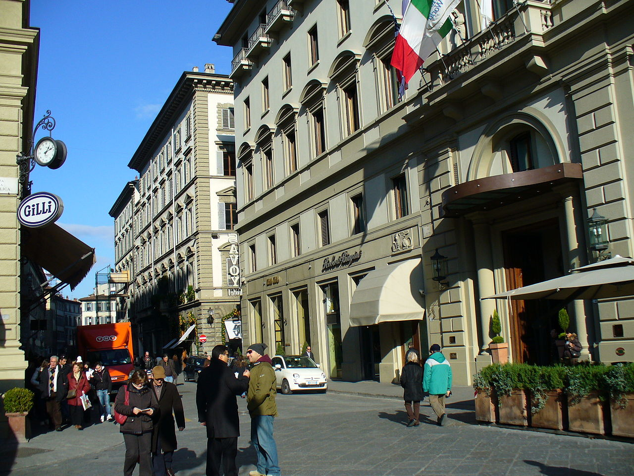 hotel savoy florence italy
