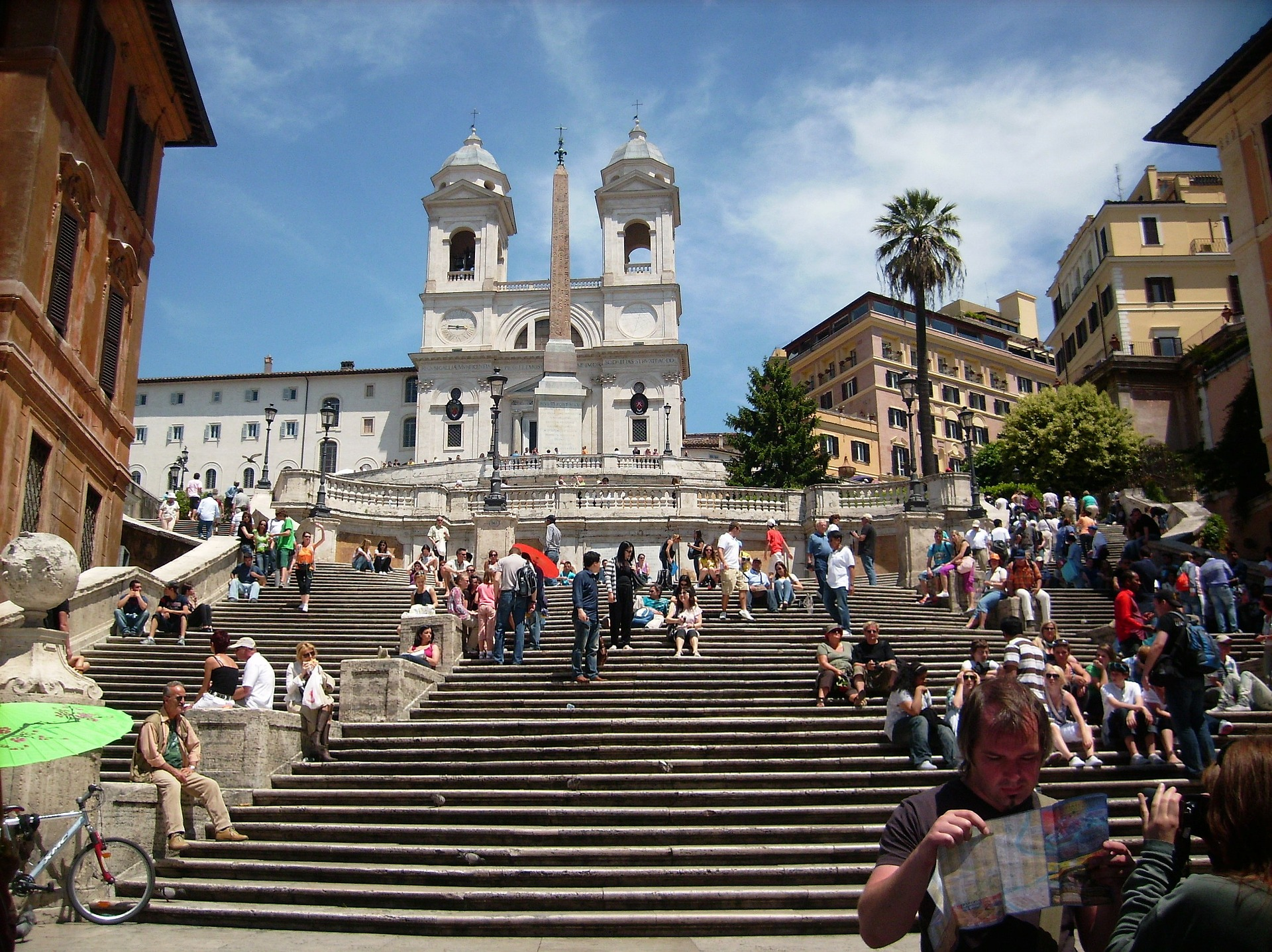 spanish steps shopping italy rome