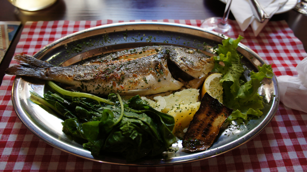 Croatian cuisine, grilled fish