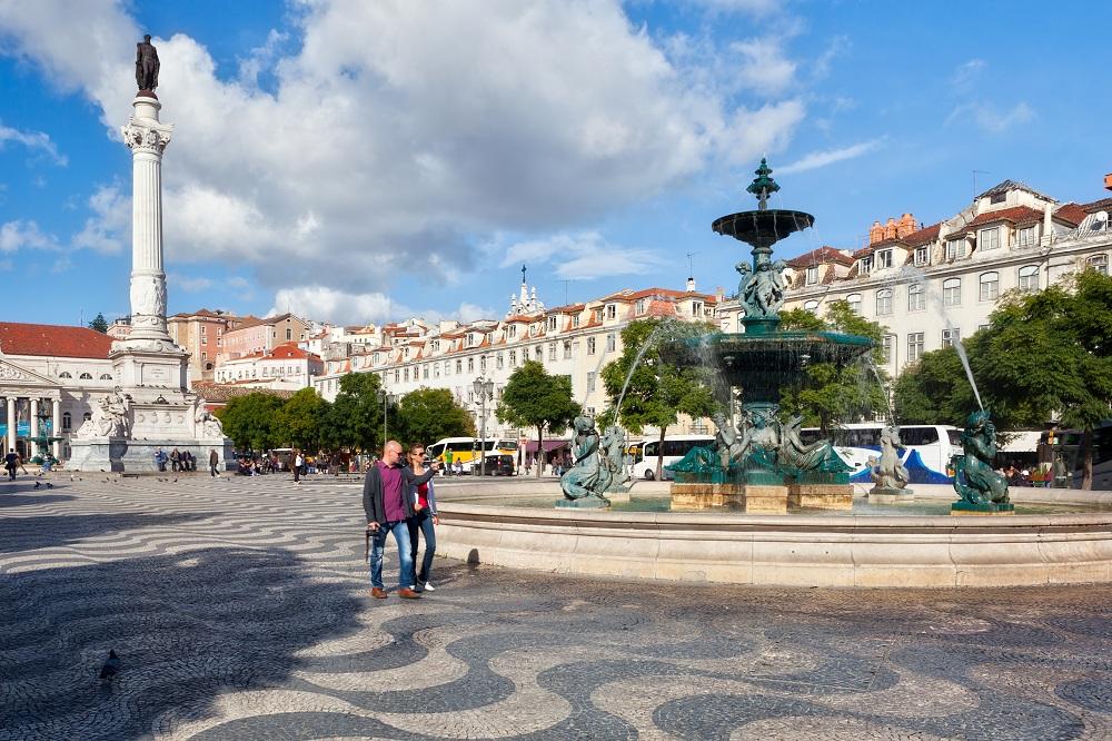 Pedro_IV_square_Lisbon portugal