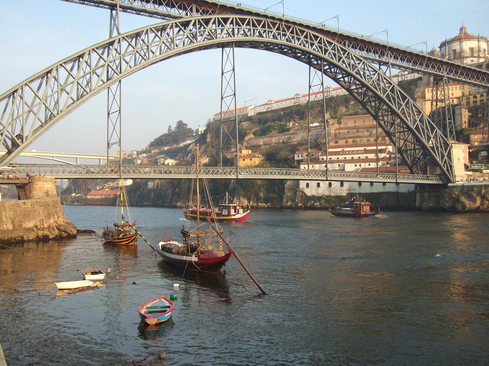 Pont_Dom_Luis_à_Porto_Portugal