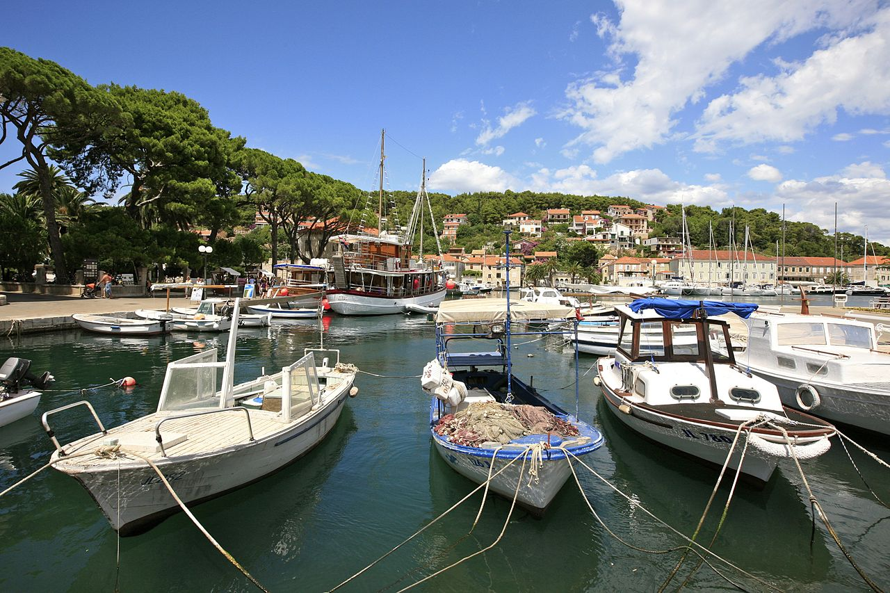 Port of Jelsa, Hvar, Croatia
