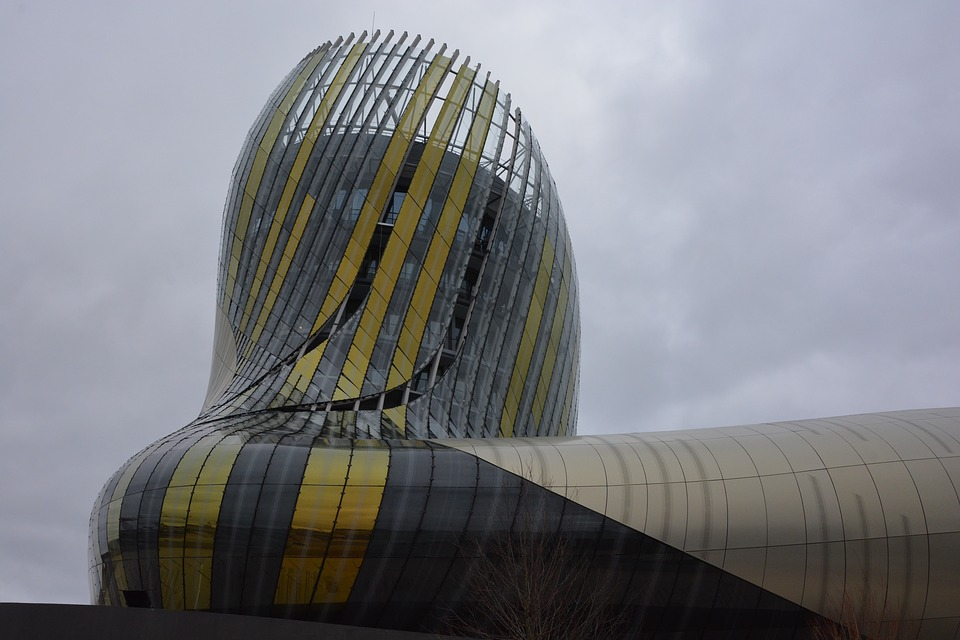 la cite du vin, wine city, bordeaux, france