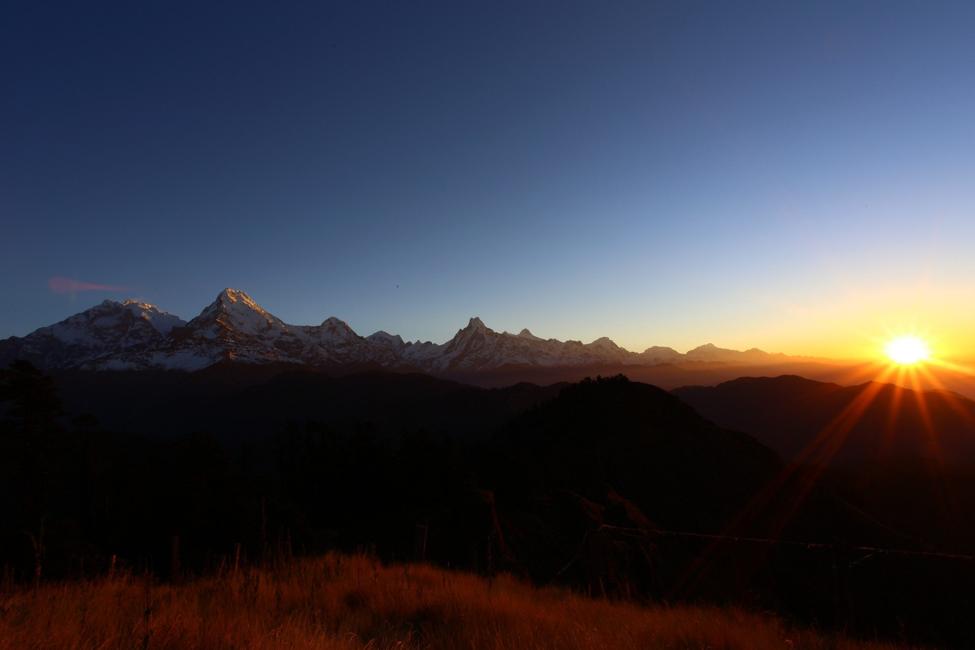 Mohare Danda Trek in Nepal mountains
