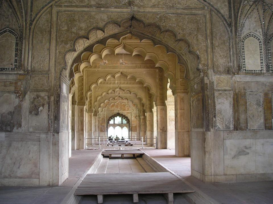 Red Fort Delhi India