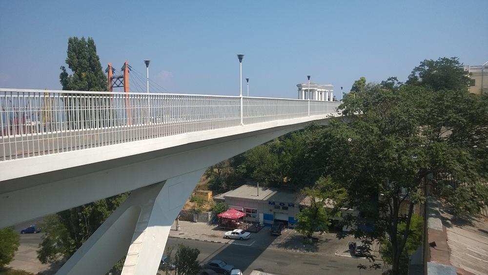 mother-in-law teschchin bridge odessa ukraine