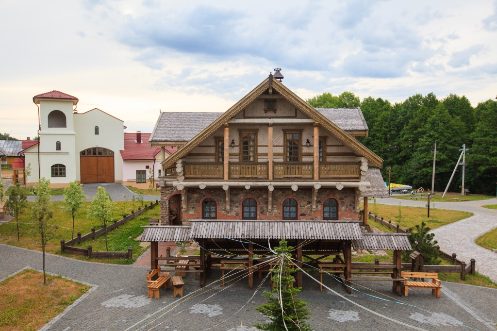 etnocultural folk complex Nanosy  belarus