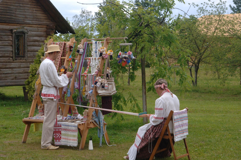 open air museum complex dudutki belarus