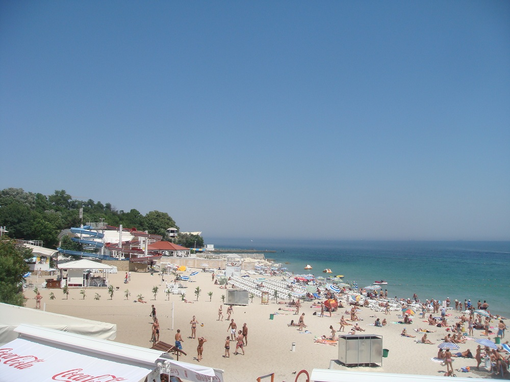 ukraine Odessa_Arcadia_Public_Beach