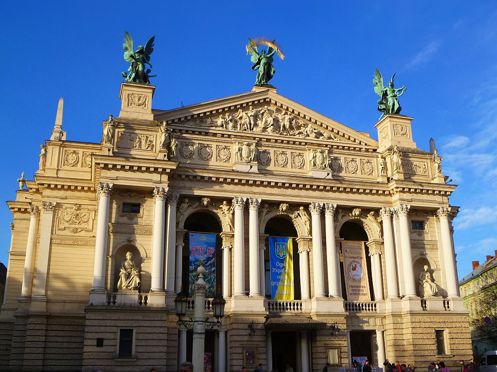 Opera house lviv ukraine