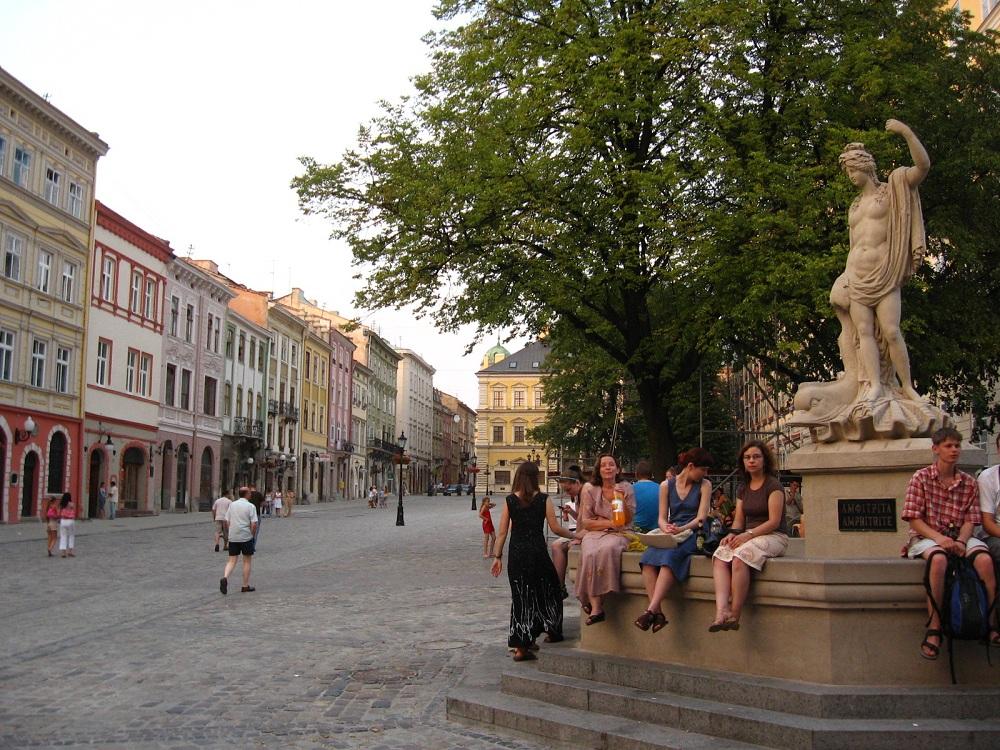 Rynok Square Lviv Ukraine