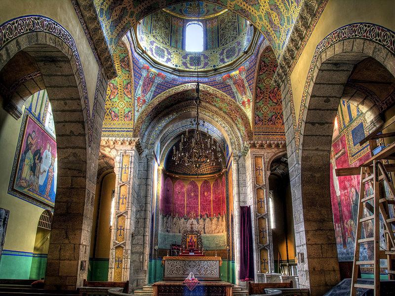 armenian church cathedral in lviv ukraine