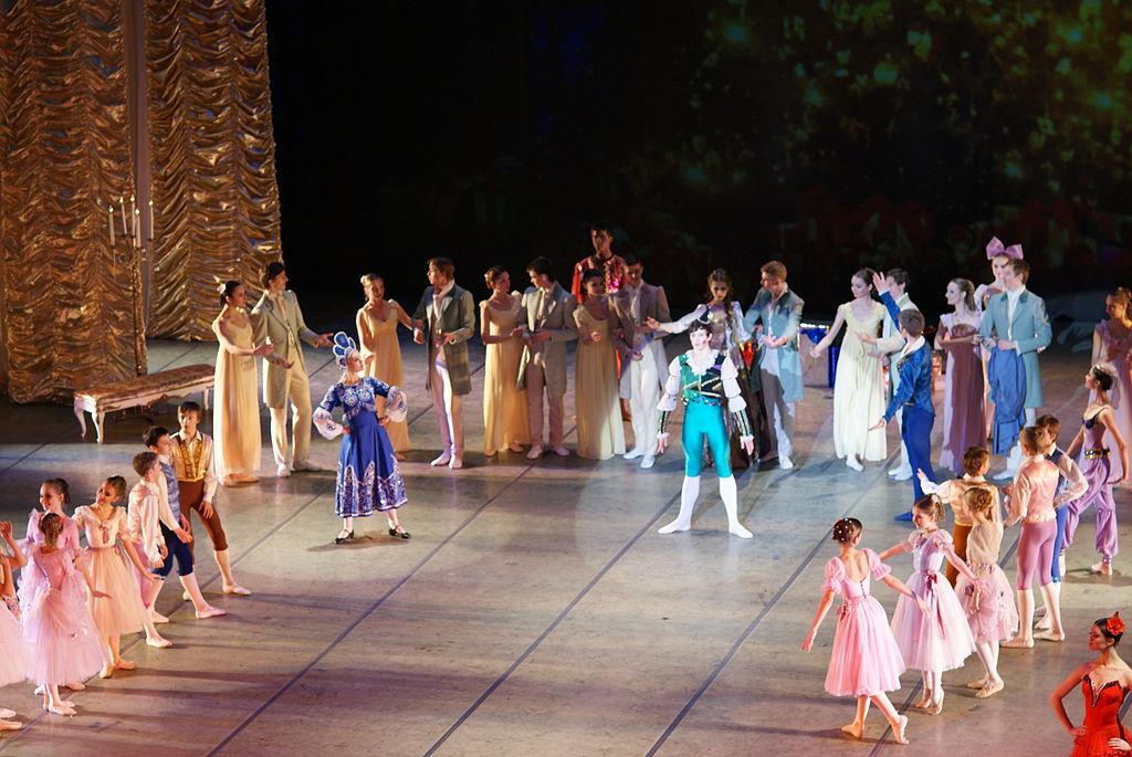 ballet in Minsk opera ballet theatre belarus