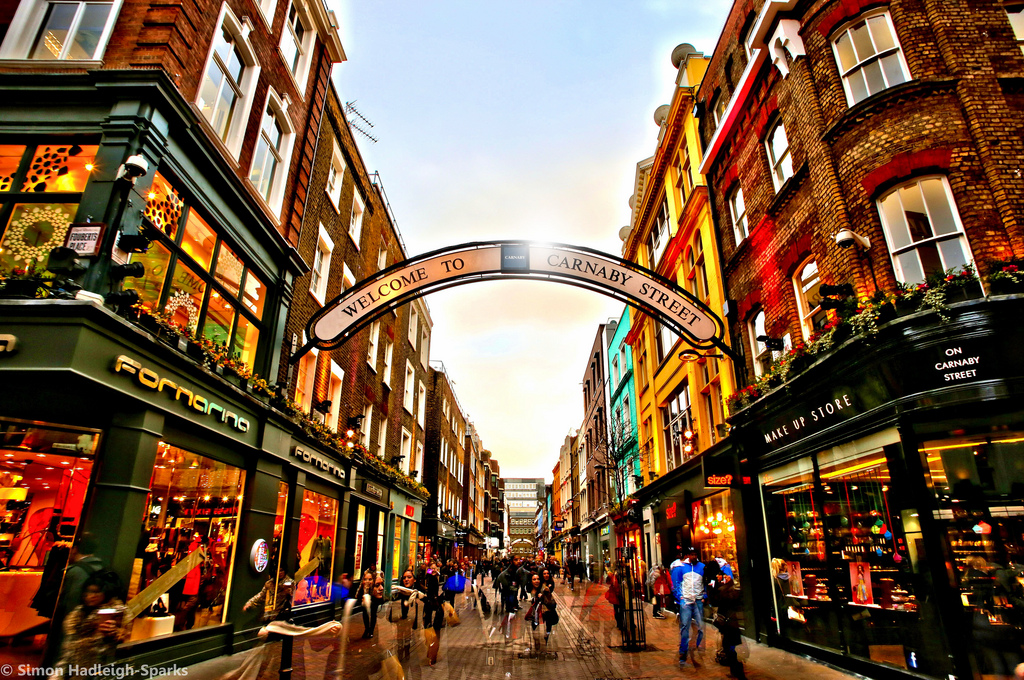 carnaby street london shopping