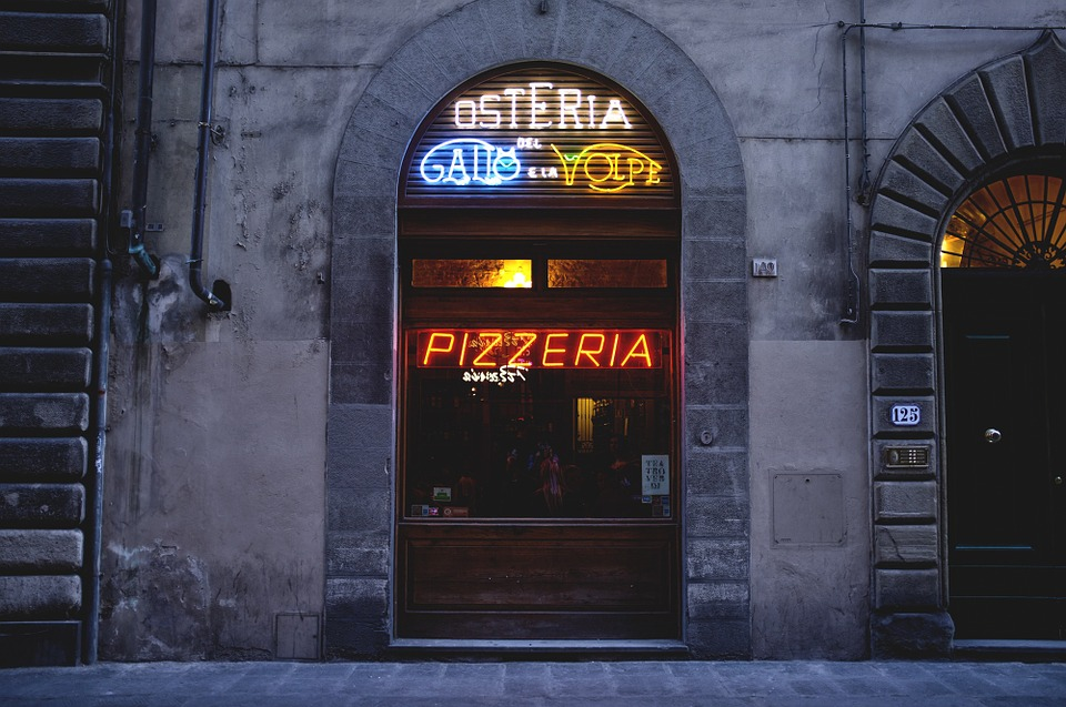 pizzeria in Florence Italy