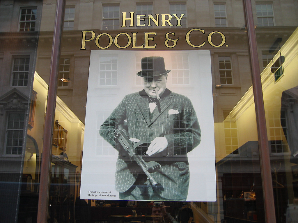 savile row shopping in london