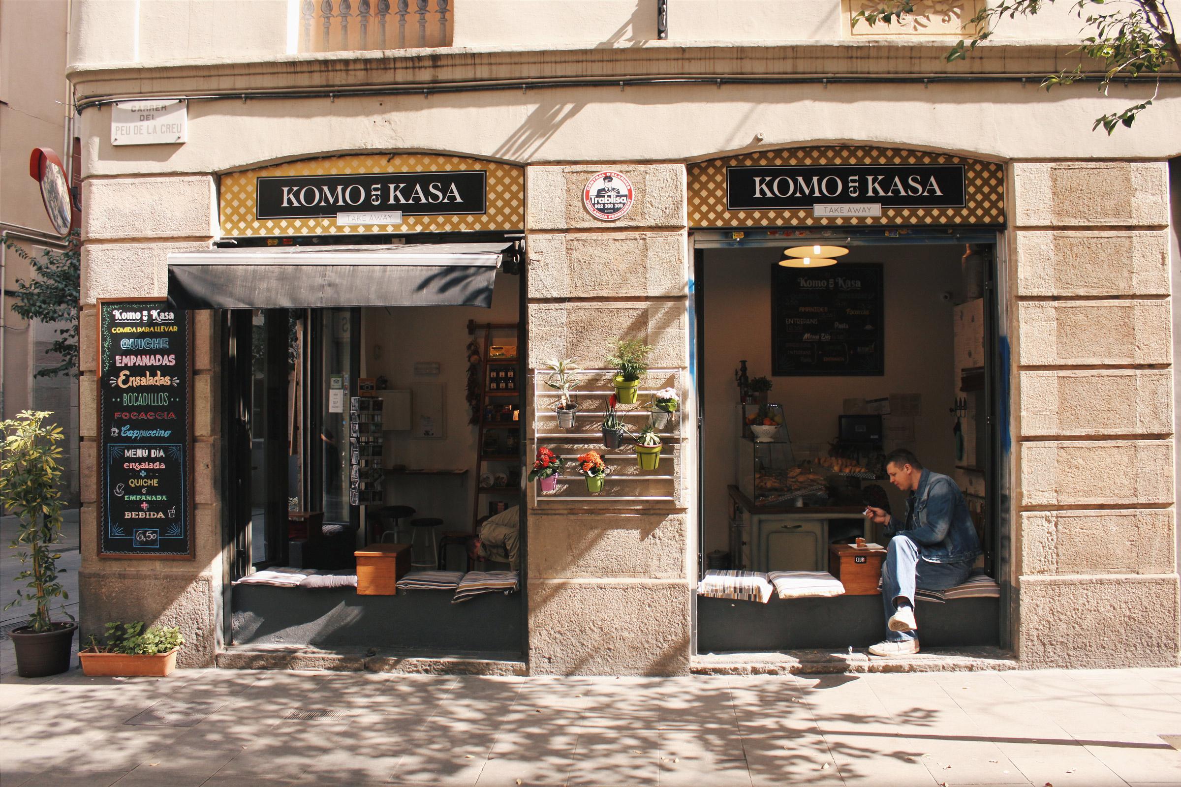 El Raval in Barcelona, Spain