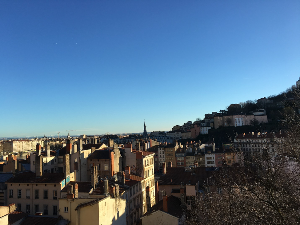 La Croix-Rousse in Lyon, France