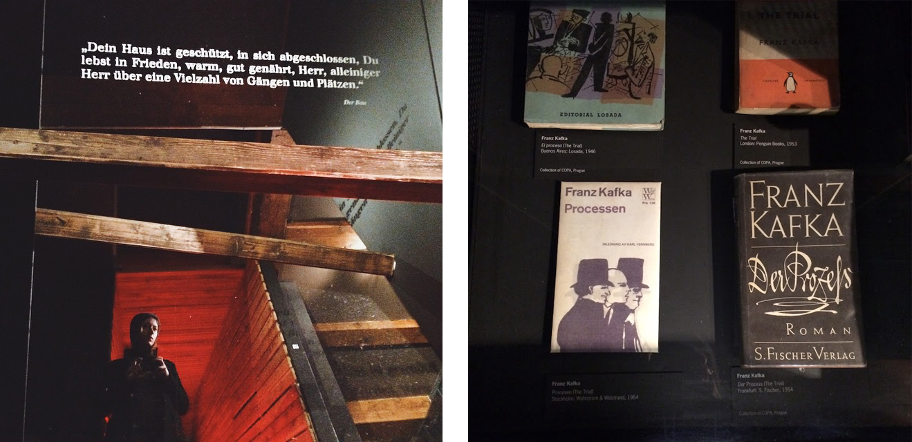 Kafka museum in Prague, Czech Republic