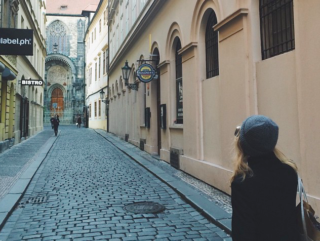 Female solo travel in Prague, Czech Republic