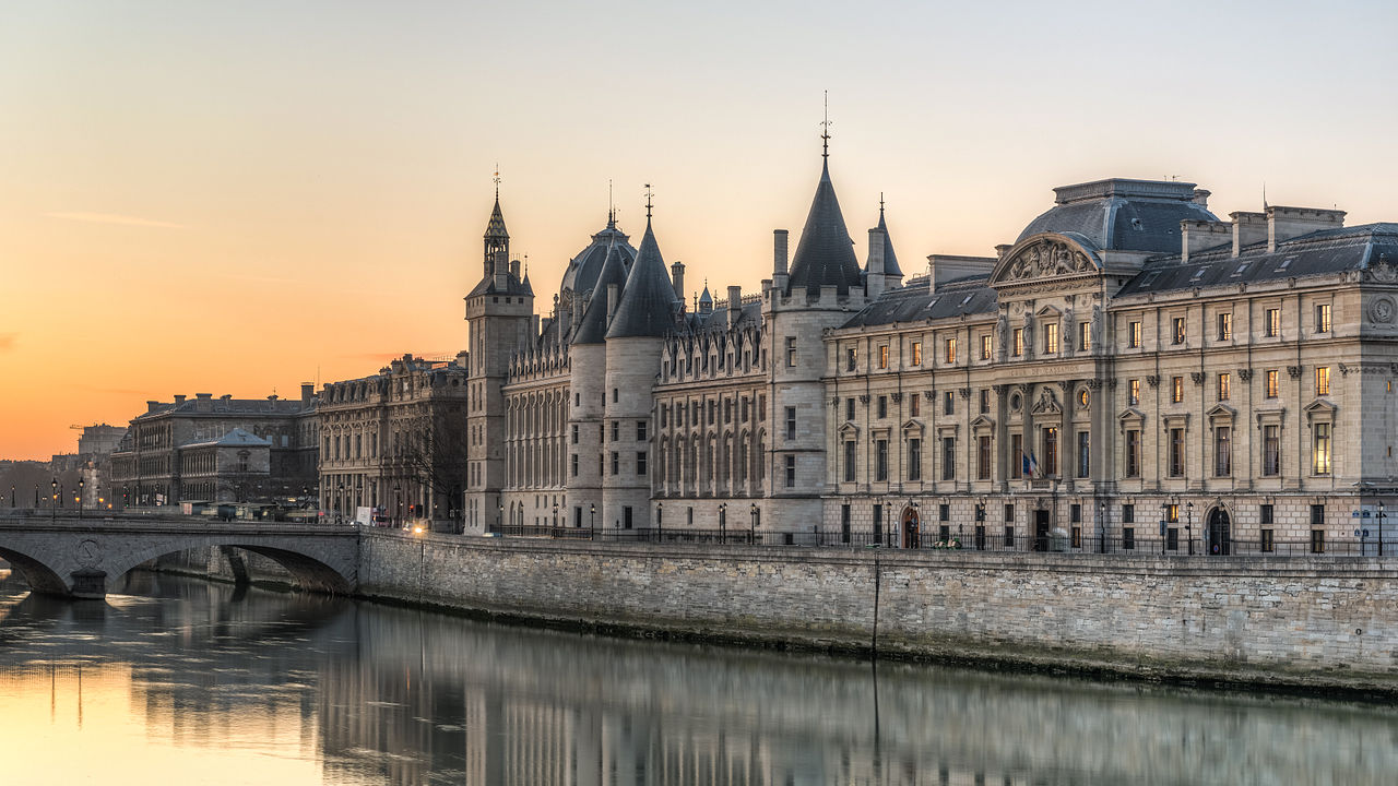 Conciergerie prison in Paris, France