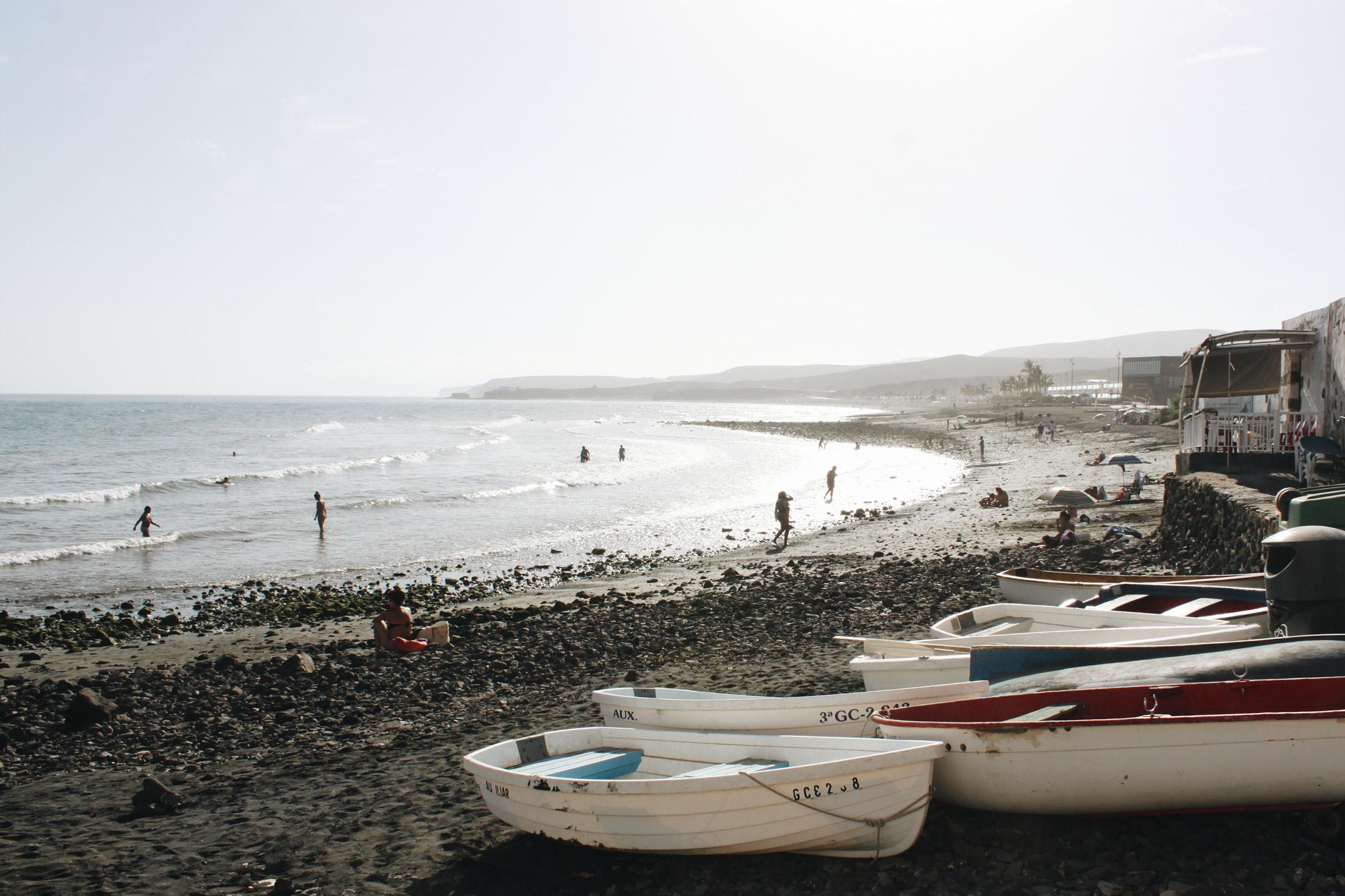 Surfing in Fuerteventura - Canary islands, Spain