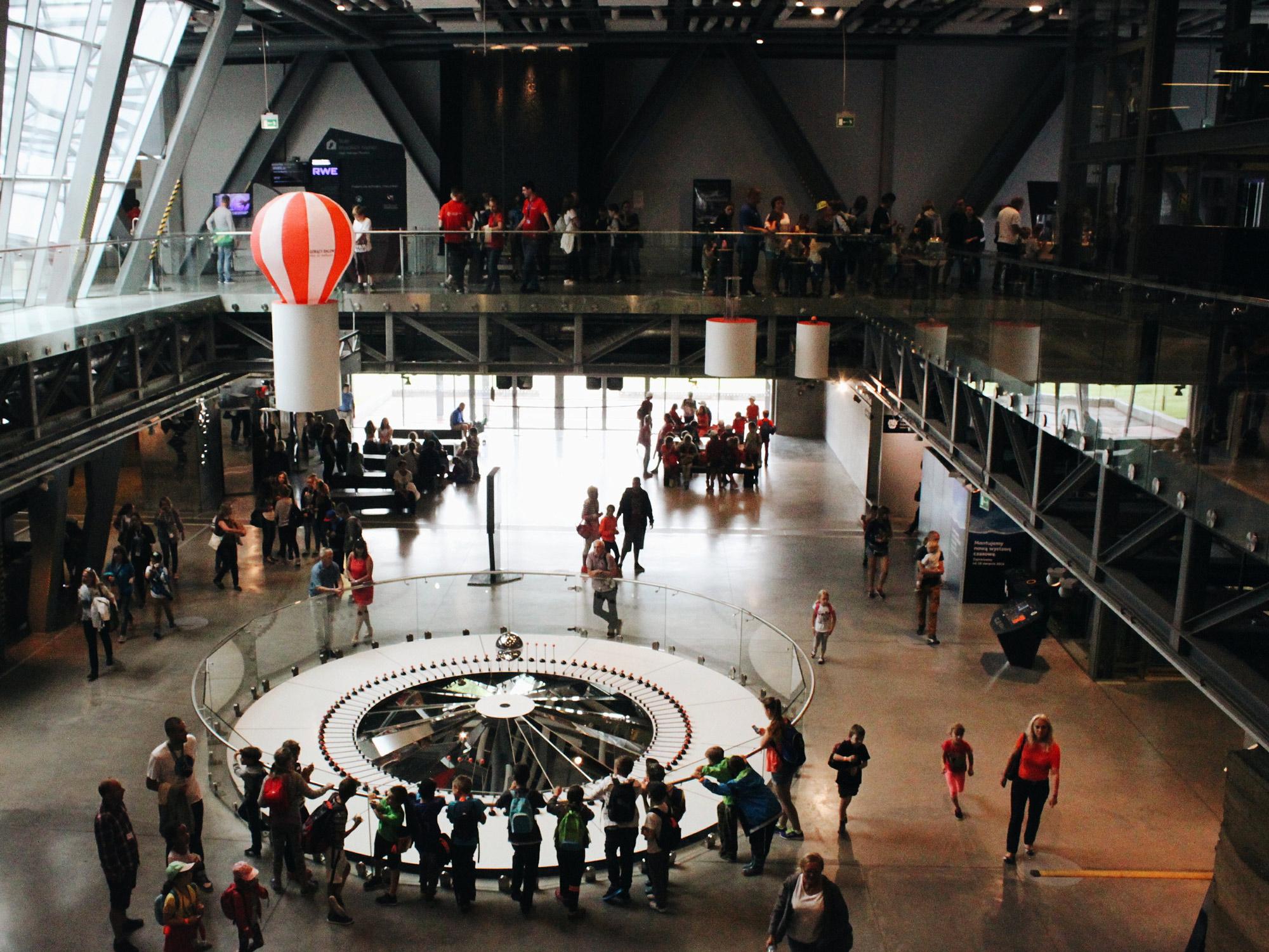 Copernicus Science Centre in Warsaw, Poland