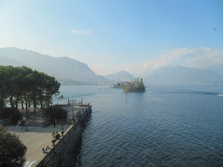 Lago Maggiore in Italy, Alps