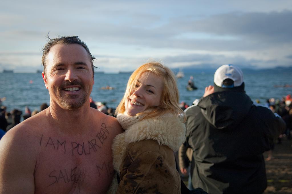 Polar Bear Swim. Canada
