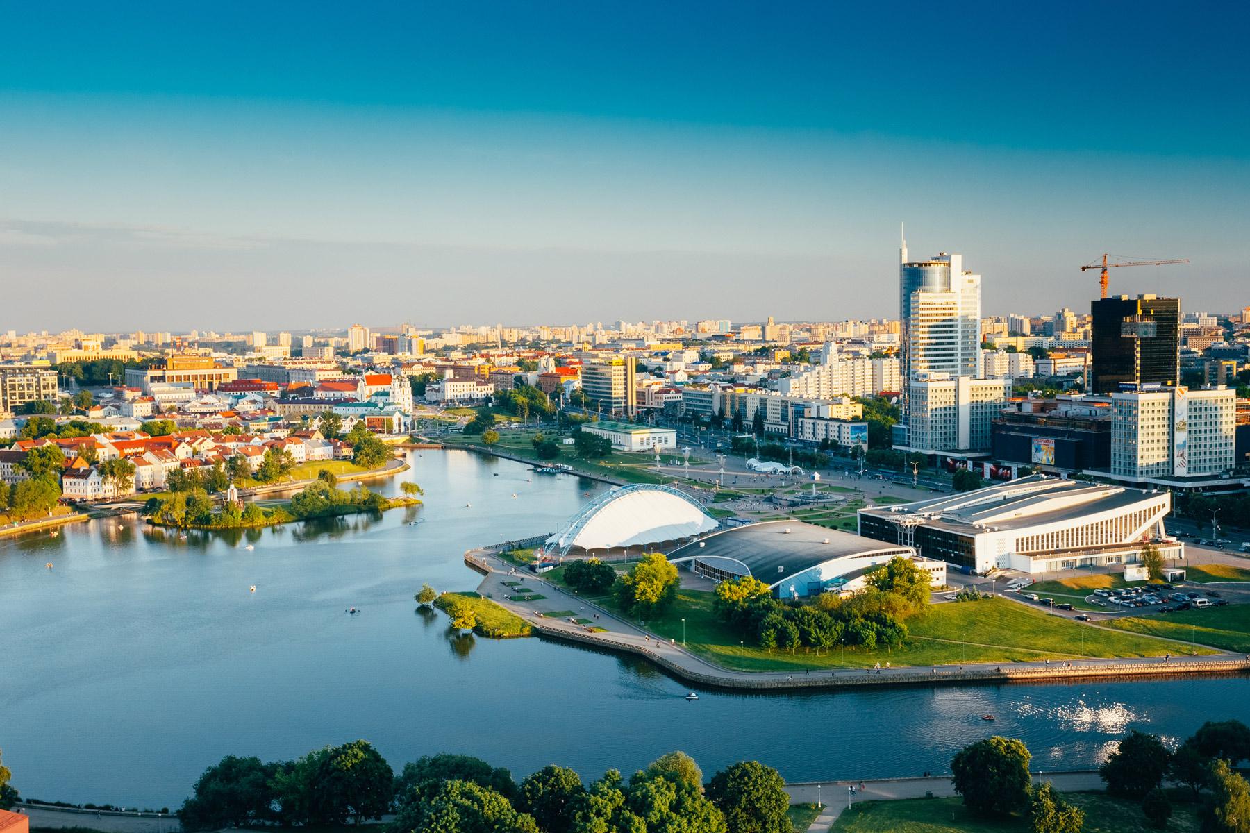Minsk view