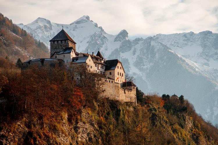 Travel, Castle Vaduz, Vaduz, Liechtenstein