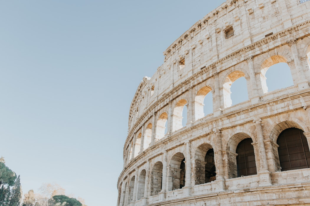 Colosseum, Rome, Italy, travel