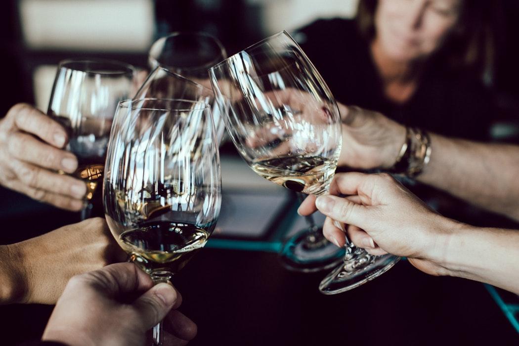 Bar, coctails, wine, glasses, travel, Barcelona
