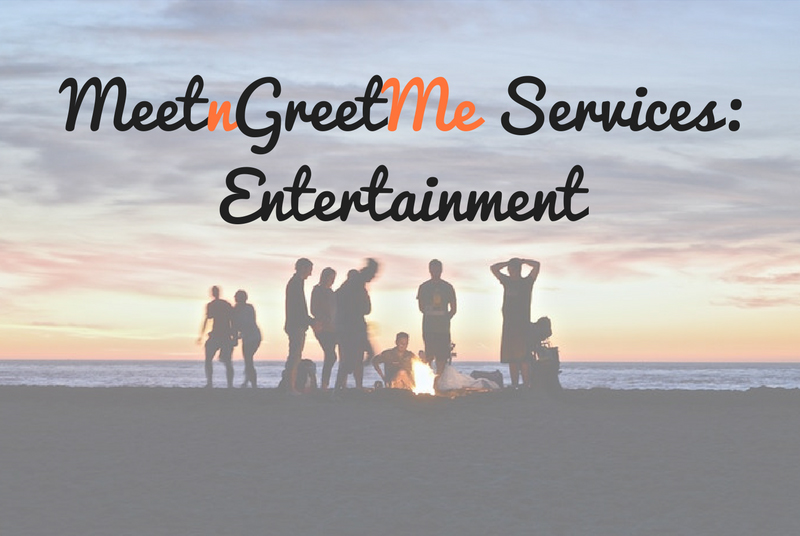 MeetnGreetMe, services, entertainment, beach party