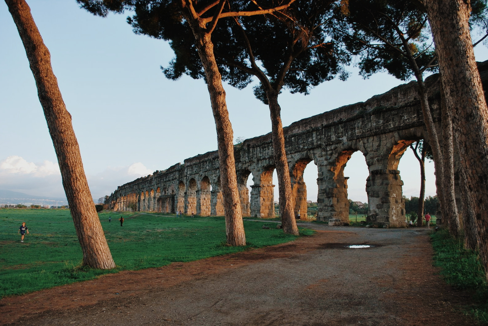 Parco Degli Acquedotti, Rome, Italy, travel